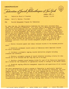 Memorandum from Harry R. Mancher